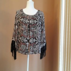 AGB Scoop Neck Blouse. NWOT